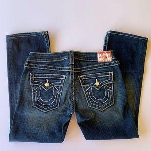 True Religion Disco Becky Big T Jeans size 28